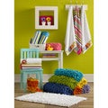 Shag Chenille 100-percent Cotton Kids 20 x 32 Bath Mat