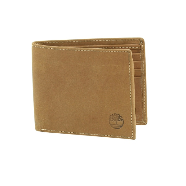 Timberland Men's Bi-Fold Leather Wallet