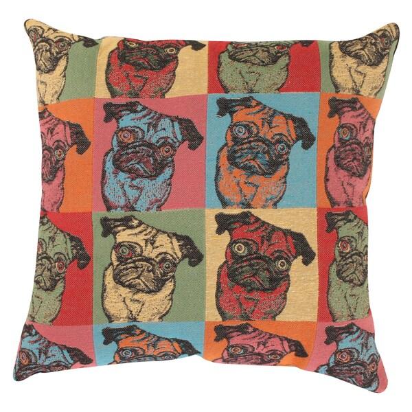 'Pugshot' Throw Pillow