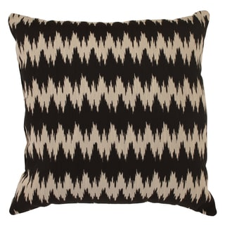 'Gopala' Black/ Grey 23-inch Floor Pillow