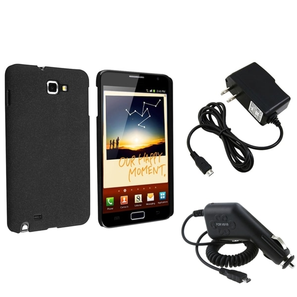 BasAcc Black Case/ Chargers for Samsung© Galaxy Note N7000