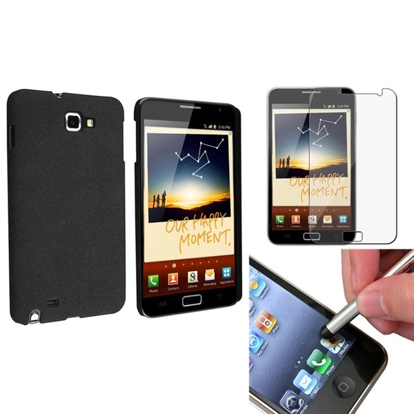 BasAcc Case/ Screen Protector/ Stylus for Samsung© Galaxy Note N7000