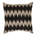 Pillow Perfect 'Gopala' Black/ Grey Throw Pillow
