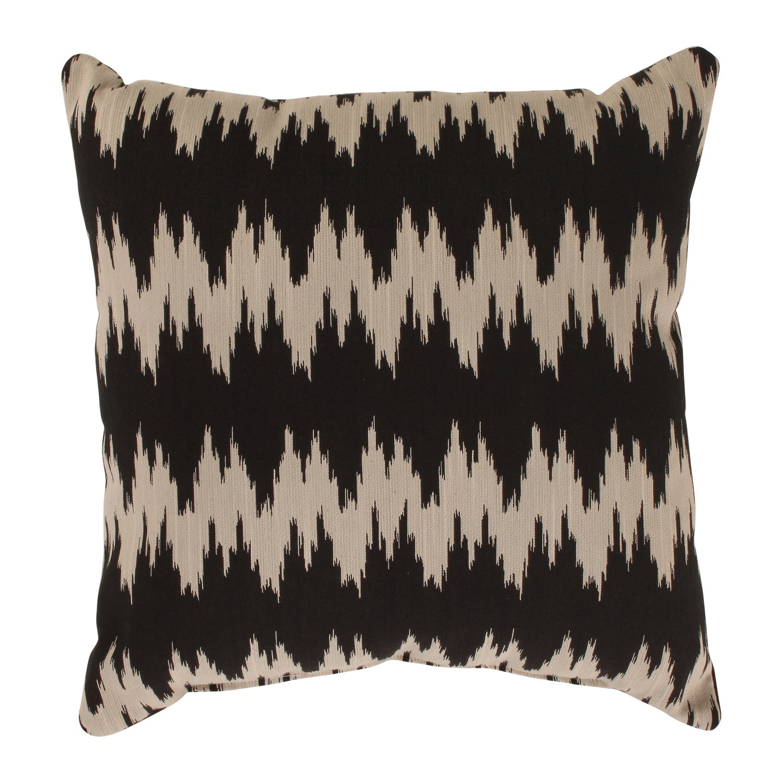 Pillow Perfect 'Gopala' Black/ Grey Throw Pillow