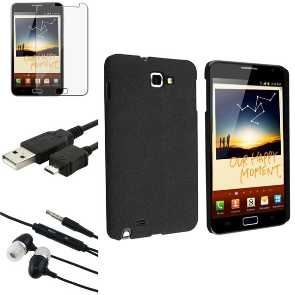 BasAcc Case/ Screen Protector/ Headset for Samsung© Galaxy Note N7000