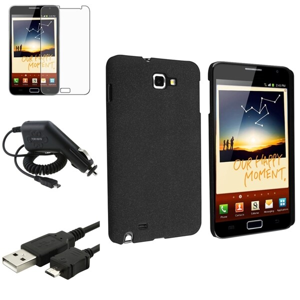 BasAcc Case/ Screen Protector/ Cable for Samsung© Galaxy Note N7000