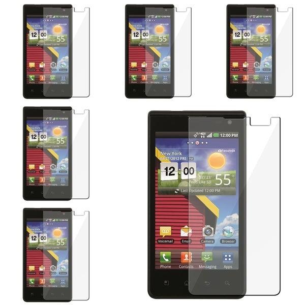 BasAcc Screen Protectors for LG Lucid VS840 (Pack of 6)