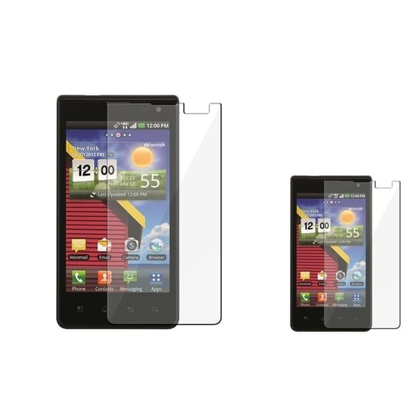 BasAcc Screen Protector for LG Lucid VS840 (Pack of 2)