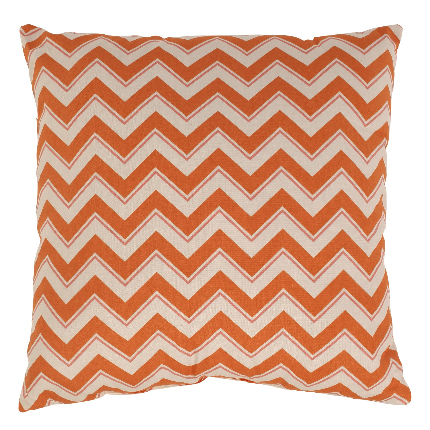 Chevron 23-inch Throw Floor Pillow