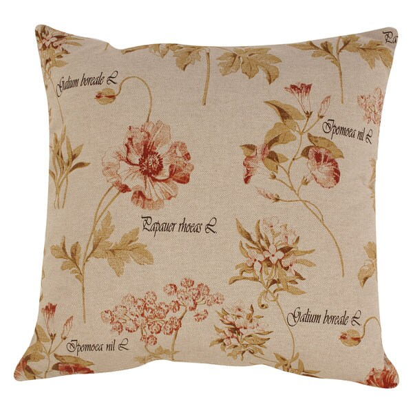 Pillow Perfect French Floral 23-inch Floor Pillow