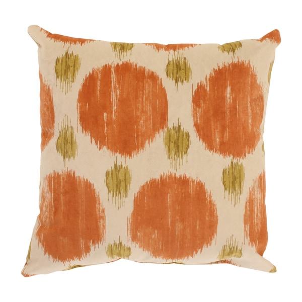 Pillow Perfect Polkaspot 16.5-inch Desert Throw Pillow