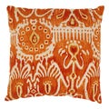 Pillow Perfect Cerva Pumpkin Throw Pillow