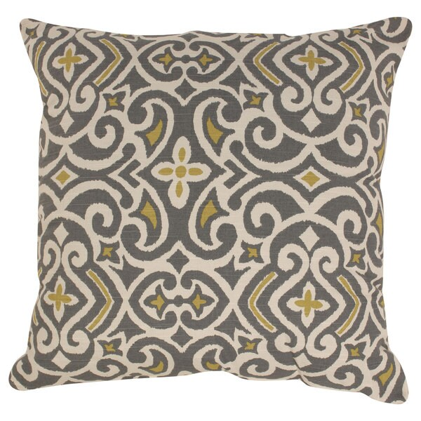 Pillow Perfect Damask 24.5-inch Floor Pillow
