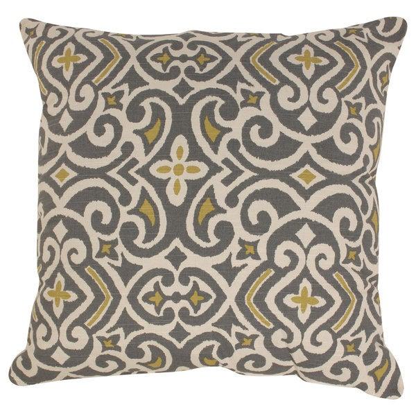 Pillow Perfect Damask 23-inch Floor Pillow