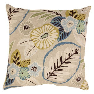 Pillow Perfect Tropical 23-inch Floor Pillow