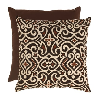 Damask 23-inch Floor Pillow
