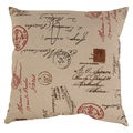 French Postale 23-inch Floor Pillow