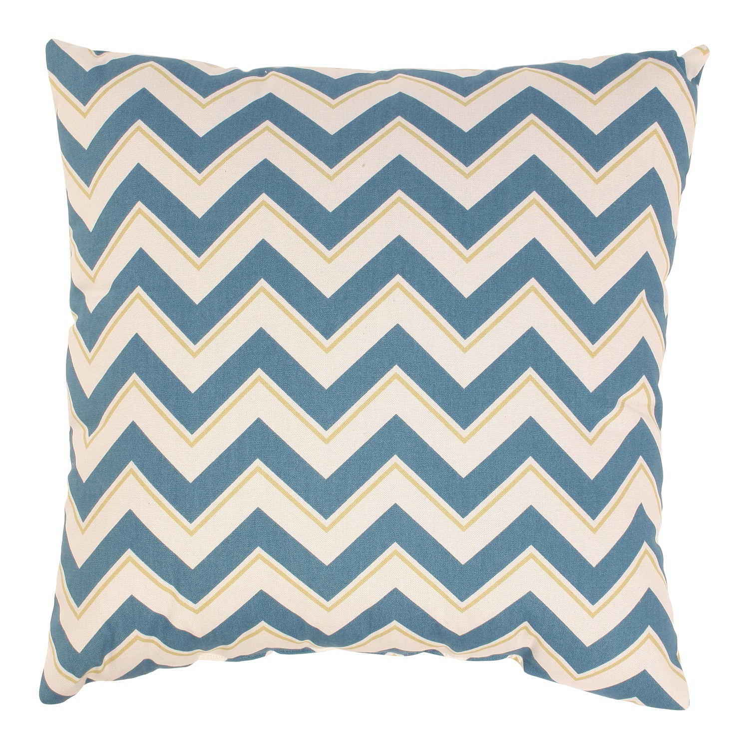 Chevron 18-inch Seaport Throw Pillow