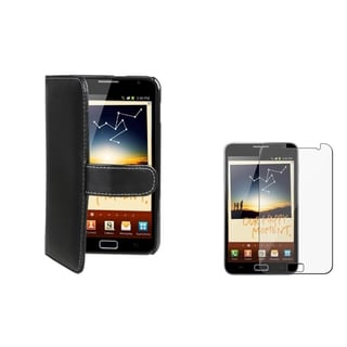 Black Card Holder Case/ Protector for Samsung Galaxy Note N7000