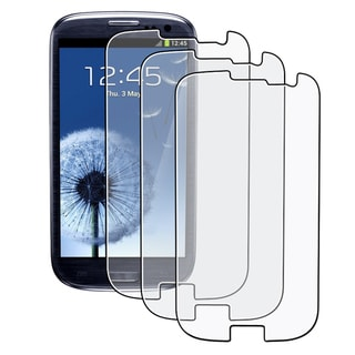 BasAcc Anti-glare Screen Protector for Samsung Galaxy S III/ S3 i9300 (Pack of 3)