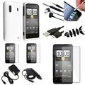 White Case/ Cable/ Protector/ Chargers/ Wrap for HTC EVO Design 4G
