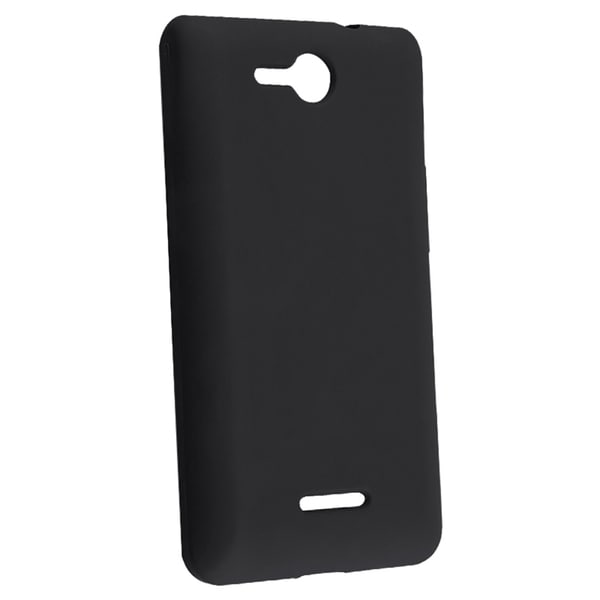 BasAcc Black Silicone Case for LG Lucid VS840