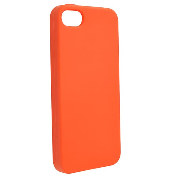 BasAcc Orange Silicone Case for Apple iPhone 5