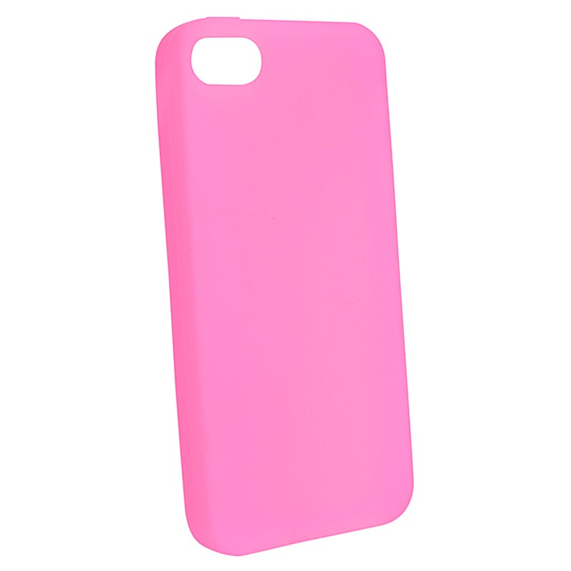 BasAcc Light Pink Silicone Case for Apple iPhone 5