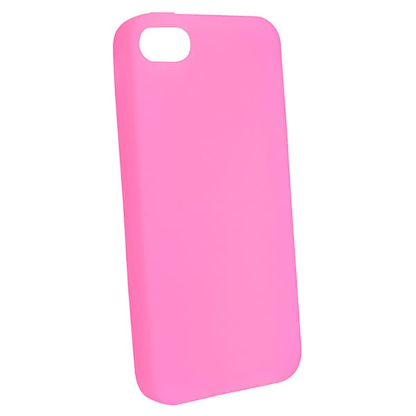 BasAcc Light Pink Silicone Case for Apple iPhone 5/ 5S