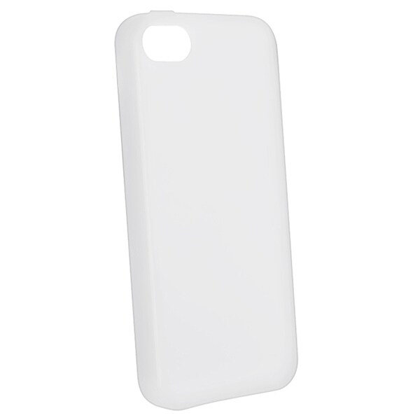 BasAcc Clear Silicone Case for Apple iPhone 5