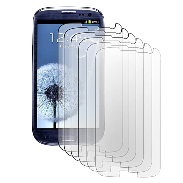 INSTEN Screen Protector for Samsung Galaxy S III/ S3 i9300 (Pack of 6)