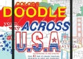 Color and Doodle Your Way Across the USA (Hardcover)