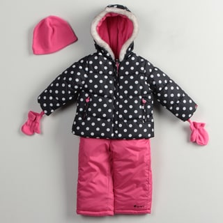 Carters Toddler Girl's Snowsuit Set