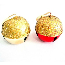 Gold 5.5-inch Bells (Set of 2)