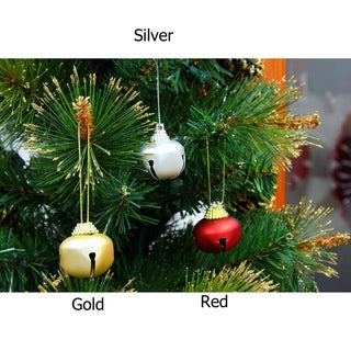 Metal Holiday Bells (Set of 12)