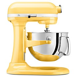 KitchenAid KP26M1XMY Majestic Yellow 6-quart Pro 600 Bowl-lift Stand Mixer