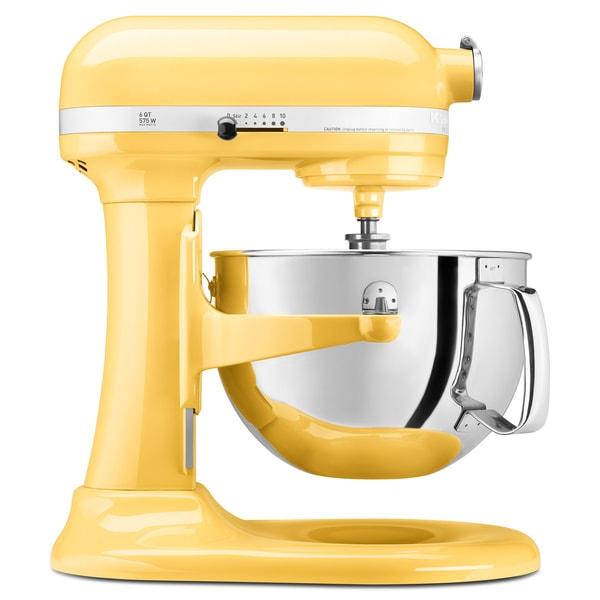 KitchenAid KP26M1XMY Majestic Yellow 6-quart Pro 600 Bowl-lift Stand Mixer **with $50 Rebate**