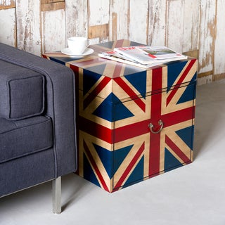 UK Union Jack Flag Trunk