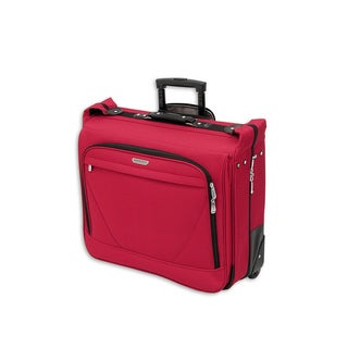 American Trunk & Case Air Lites Red 44-inch Wheeled Garment Bag