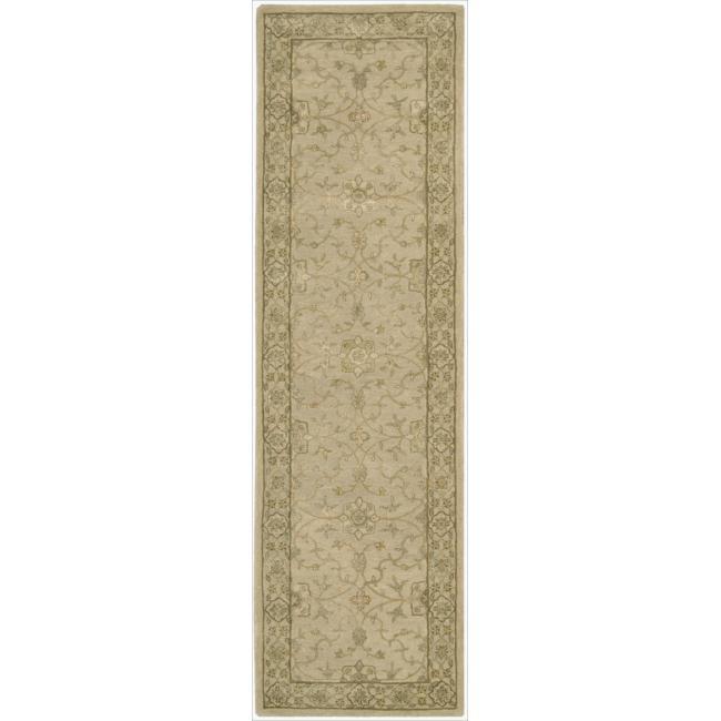 Nourison 3000 Hand-tufted Beige Rug (2'6 x 12') Runner
