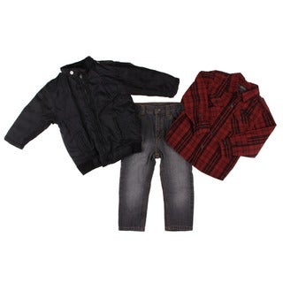 Kenneth Cole Toddler Boy's 3-piece Jacket and Pant Set