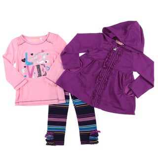 Kids Headquarters Toddler Girl's 3-piece Set