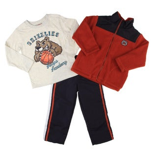 Kids Headquarters Infant Boy's Basketball Graphic 3-piece Set