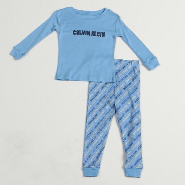 Calvin Klein Toddler Boys' Shirt Pants Sleep Set