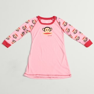 Small Paul by Paul Frank Girl's Monkey Face Print Pajama