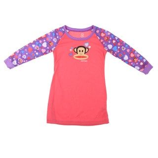 Small Paul by Paul Frank Girl's Monkey Head Print Pajama