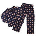 Small Paul by Paul Frank Girls&#39; 2-piece Monkey Face Print Pajama Set FINAL SALE