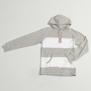 Calvin Klein Boys' Striped Hoodie Shirt (8-20) FINAL SALE