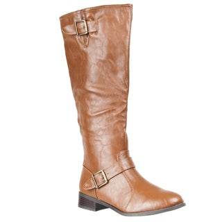 Riverberry Womens Mid-Calf 'Asiana' Fashion Boots