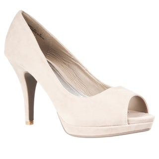 Riverberry Women's 'Corey' Peep Toe Pumps